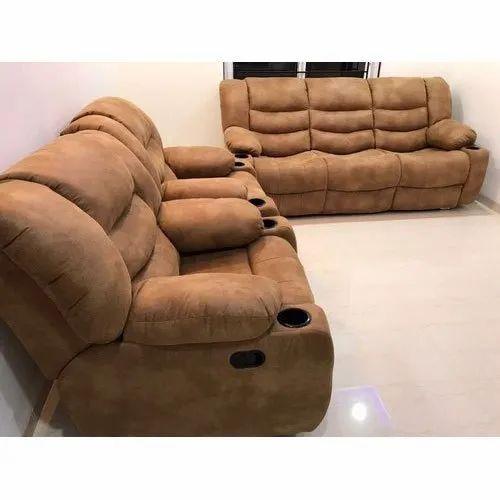 Brown Recliner Sofa Set
