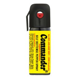 Commander Self Defense Pepper Spray, Yellow, MOQ 100