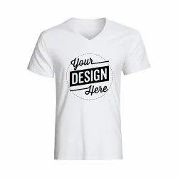 Custom V Neck T Shirt