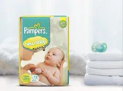 Pampers Premium Care New Baby Diapers, Packaging Type: Packet