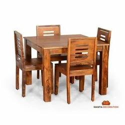 Mamta Decoration Wooden Dining Table 4