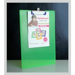Green Plastic Clip Board