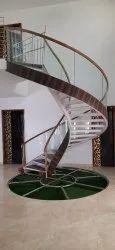 Cantilever Circle Staircase