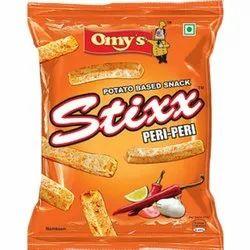 Omy's 16g Stixx Peri-Peri Potato Sticks