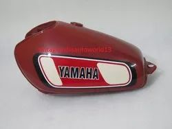 New Yamaha Xt Tt 500 Painted Aluminum Petrol Tank 1977 Model