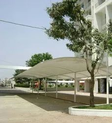 Car Parking Tensile Membrane Structure