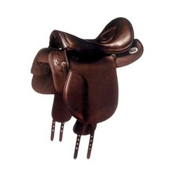 Brown Polished Horse Saddle