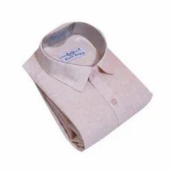 SRW Mens Full Sleeve Casual Wear Cotton Plain Shirt