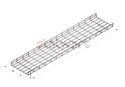 SS 202 Wiremesh Cable Tray