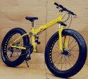Mercedes Benz Yellow Fat Tyre Foldable Cycle