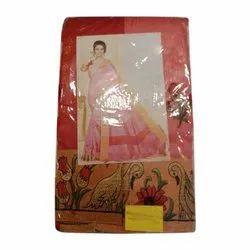 SLS Party Wear Ladies Fancy Cotton Saree, 6.3 M, With blouse piece