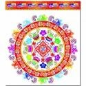 20 Inch Transparent Rangoli Sticker