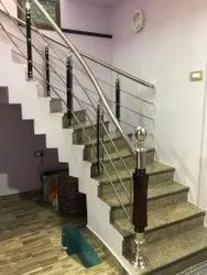 Staircase Wooden Handrail