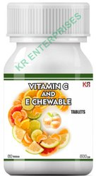 Vitamin C And Vitamin E Chewable Tablets