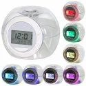7 Colour Changing Clock