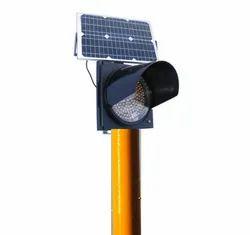 Solar Blinker Light ( Traffic Light ) 24 Hours, 12 Hours ( Amer & Red Colour )