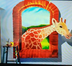 3D Wall Painting