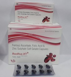 Ferrous Ascorbate Folic Acid Zinc Sulphate