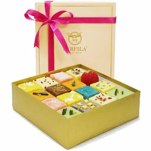 Berfila Indian Sweets Mithai Gifting Box 16 Pieces Mix