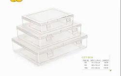 Plastic Rectangle Nakoda Gift Box