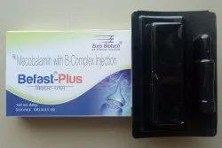 Methylcobalamine 1000 mcg,Thiamine 100 mg,Pyridoxine 100 mg,Nicotinamide 100 mg & D-Panthenol 50 mg