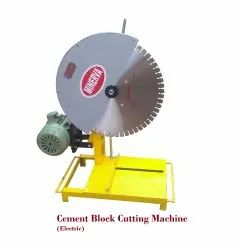 Electric Cement Block Cutting Machine