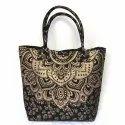 Handicraft Pure Cotton Party Wear  Hand Bag
