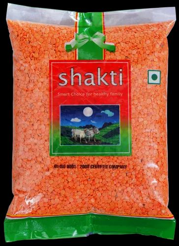 SHAKTI MASOOR DAL 500 Gm, Packaging Size: 500 g