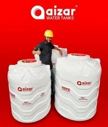 Aizar White Triple Layer Water Tank
