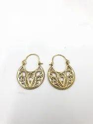 Brass Eco Friendly Earring