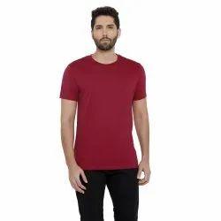 Supima Cotton Round Neck Customized T-Shirt for Men's