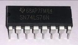 Low Power Schottky IC SN74LS76N Texas Instruments