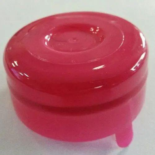 Pink Bubble Top Cap