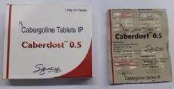 Cabergolin 0.5 mg (Dostinex Generic)