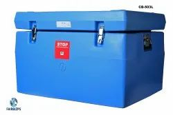 8.00 Litre Cold Box CB - 243 L with 24 Ice packs