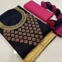 Ladies Trendy Cotton Suit Dress Material