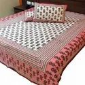 Cotton Hand Block Print Bed Sheets