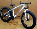 Bengshi White Fat Tyre Cycle