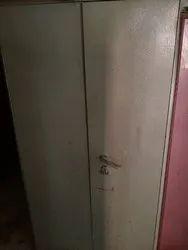 Metalicgrey Double Door Iron Single Cuboards
