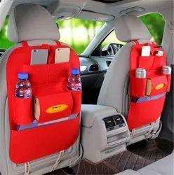Red Car Back Seat Multi Pocket Organizer