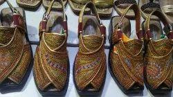 Handwork Peshawari Juttis