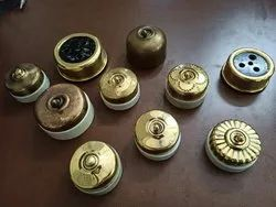 Vintage Brass Switches