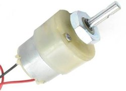 12V 500 Rpm Geared Motor at Rs 167/piece | DC Geared Motor | ID