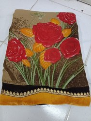Formal Wear Reniyal Synthetic Saree, 6 M (with Blouse Piece)