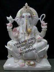 Beautiful Ganesh marble  Statue