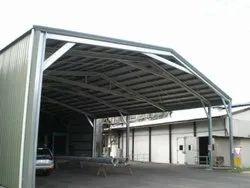 Industrial Mild Steel Shed