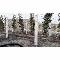 RCC Cement Fencing Pole