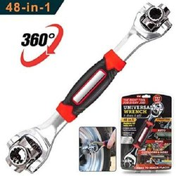 48-in-1 Universal Tiger Wrench Spanner Handy Wrench Spline Bolts 360 Degree 6-Point Tiger Wrench