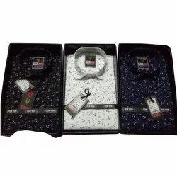 Cotton Collar Neck Men Designer Casual Shirts, Size: S-XXL