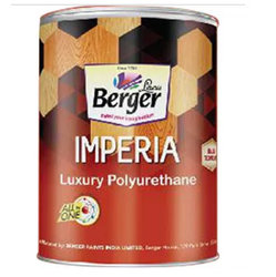 Berger Pigmented Black Matt Imperia Luxury Polyurethane